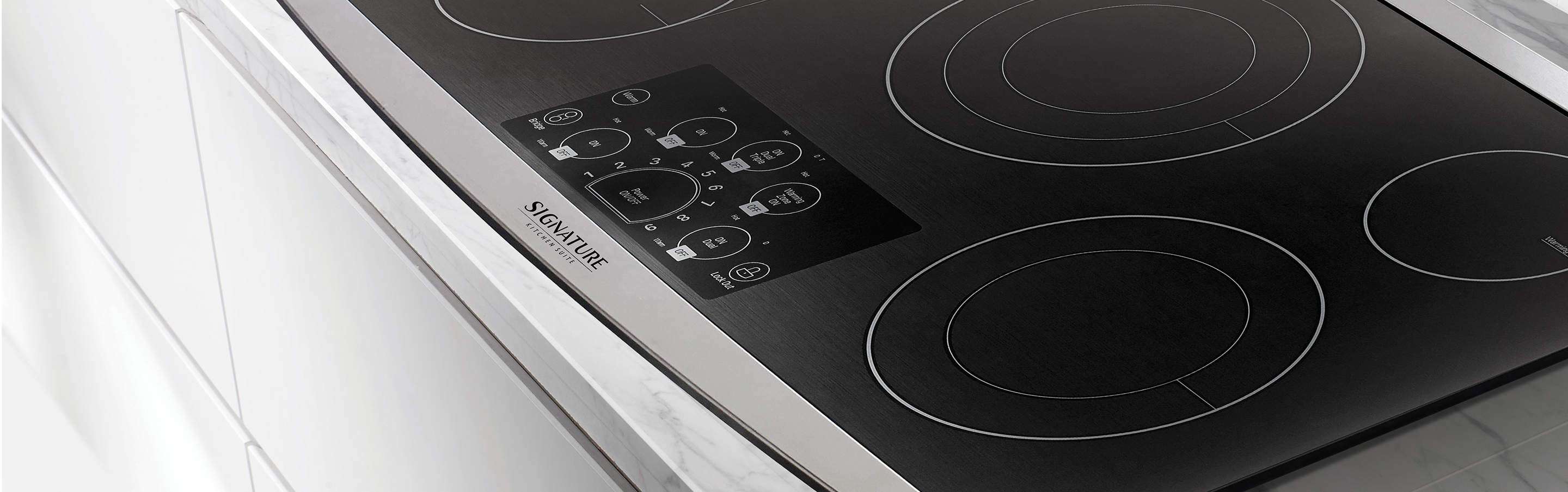 "36"" Electric Cooktop from Signature Kitchen Suite"