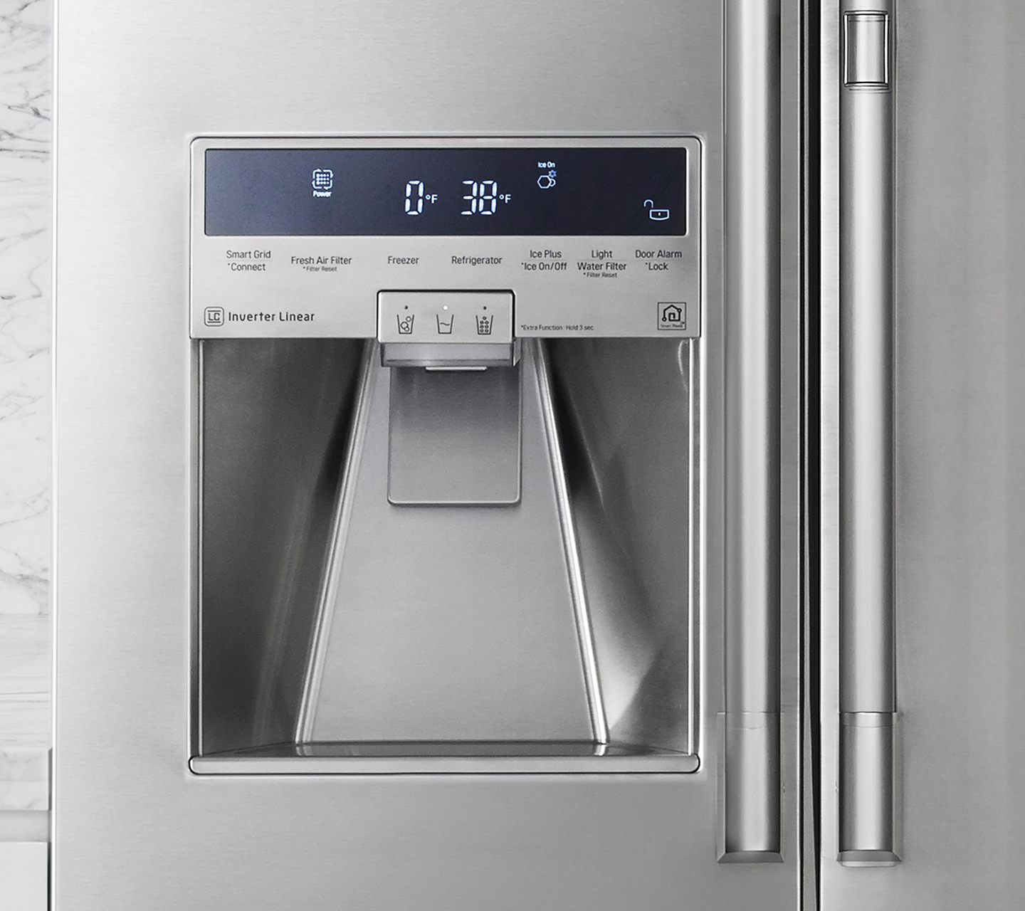 "36"" Counter Depth French Door Stainless Touch Control"
