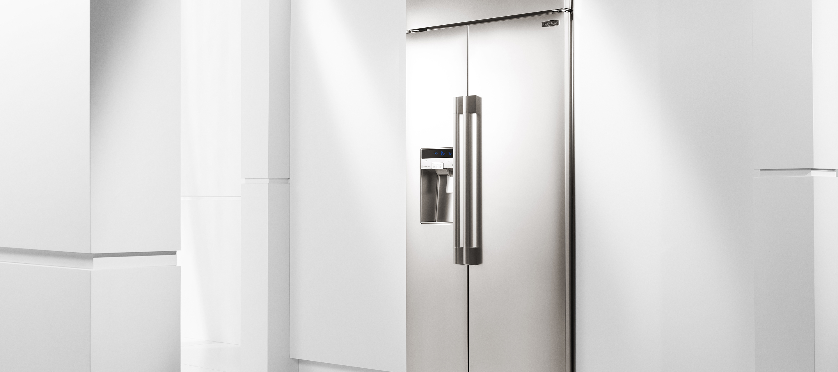 "42"" Built-in Side-by-Side Refrigerator from Signature Kitchen Suite"