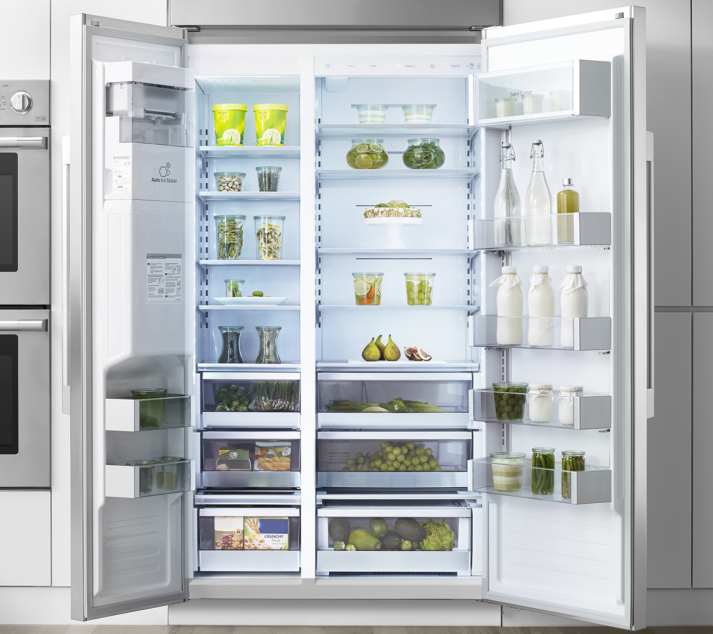 "42"" Built-In Refrigerator Side-by-Side  with Smartspace System"