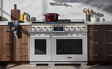 "48"" Dual Fuel Pro Range with Sous Vide from Signature Kitchen Suite"