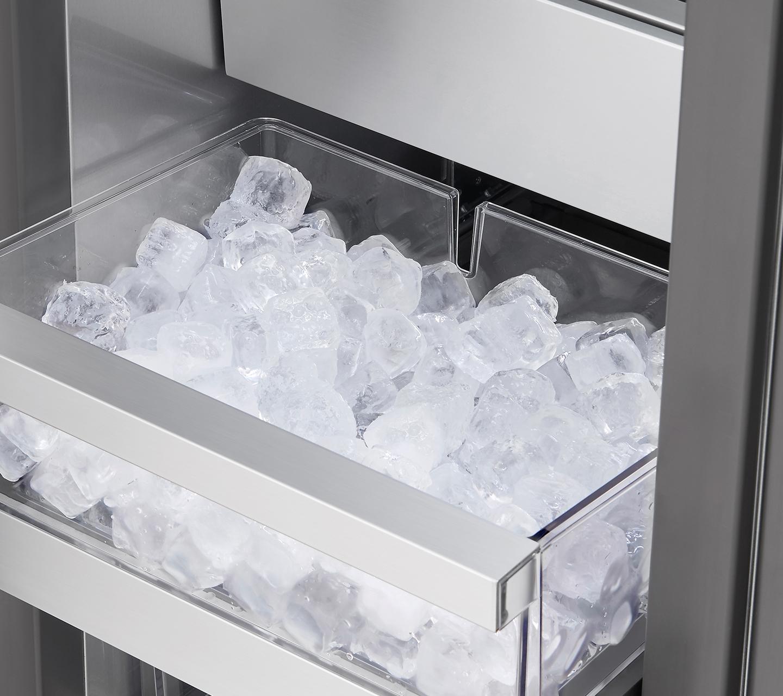 "Ice Maker & Bucket in 18"" Integrated Freezer Column"