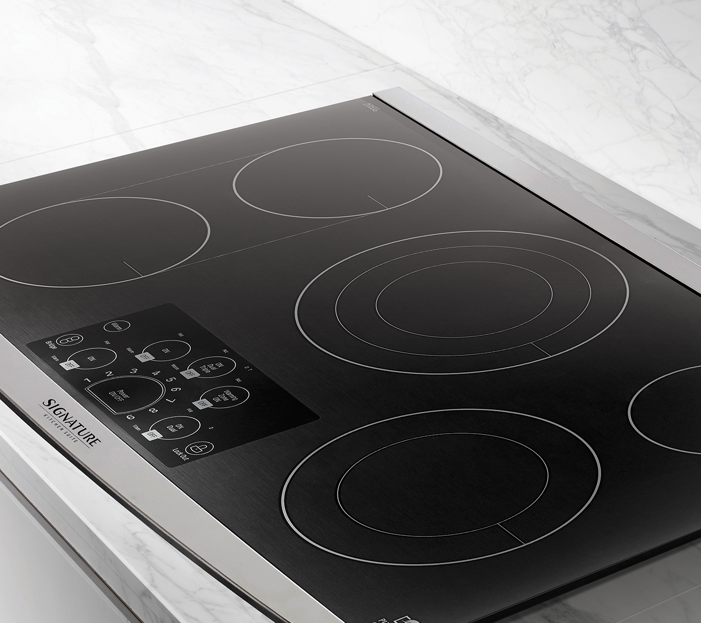 "Glass Ceramic Cooktop for 36"" Electric Cooktop"