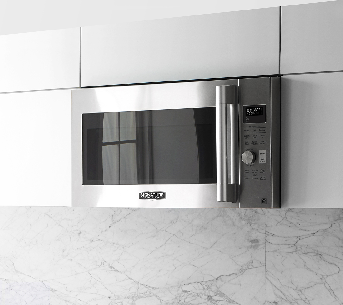 Over-the-Range Microwave Stainless Touch Control