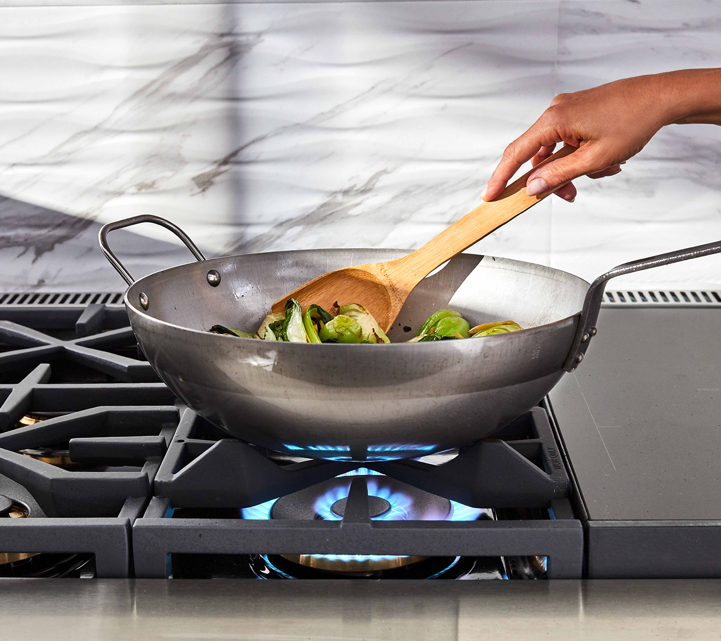 "Built-In Wok Grate for 36"" Dual Fuel Pro Range"