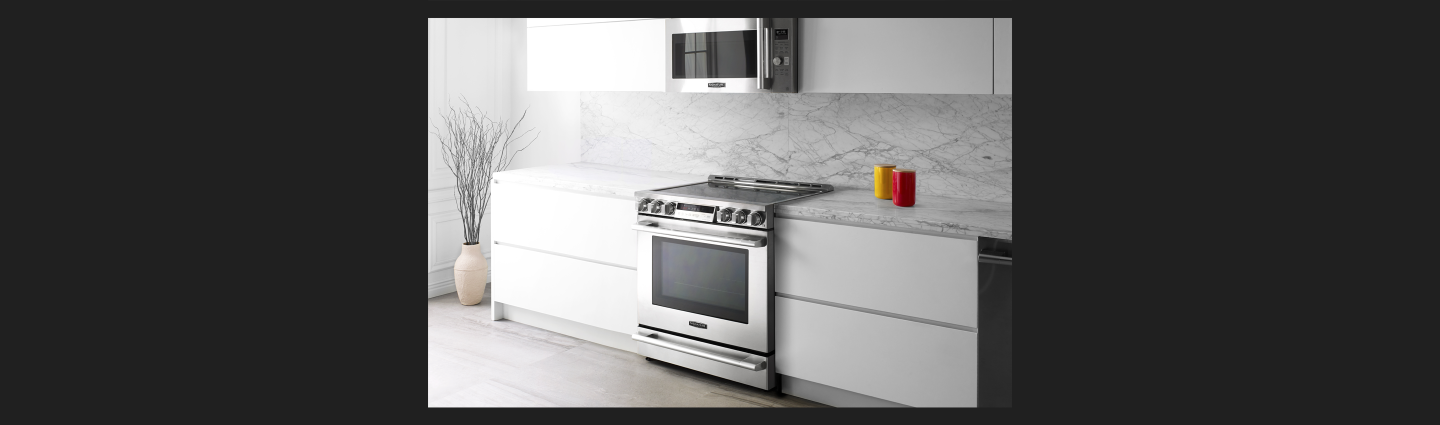 30-inch Electric Slide-in Oven Range | Signature Kitchen Suite