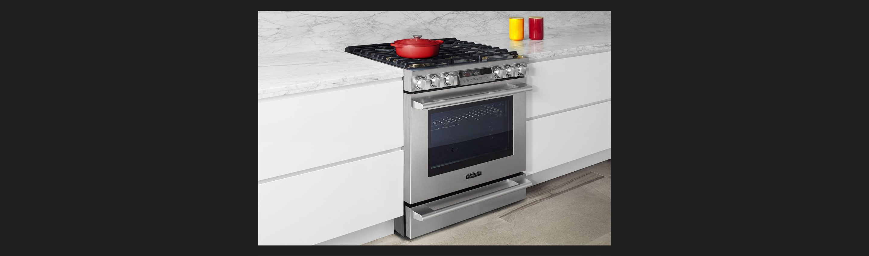 30-inch Gas Slide-in Oven Range | Signature Kitchen Suite