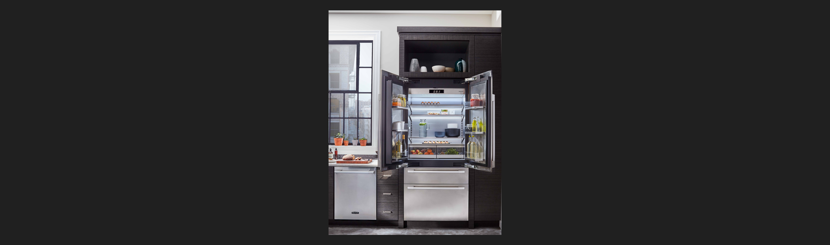36 Quot Built In French Door Refrigerator Signature Kitchen