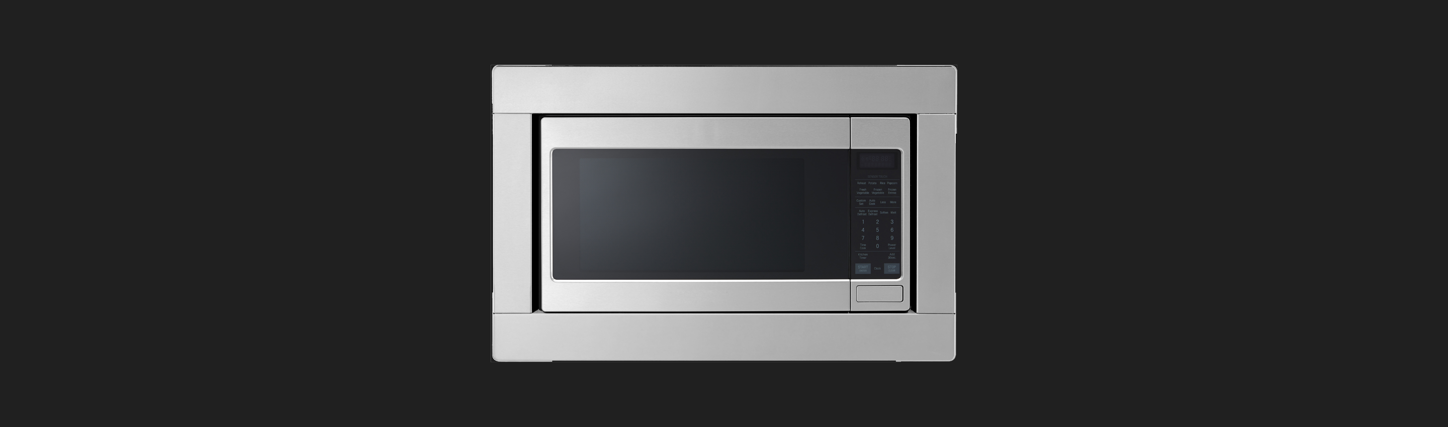 Countertop Microwave with Trim Kit from Signature Kitchen Suite