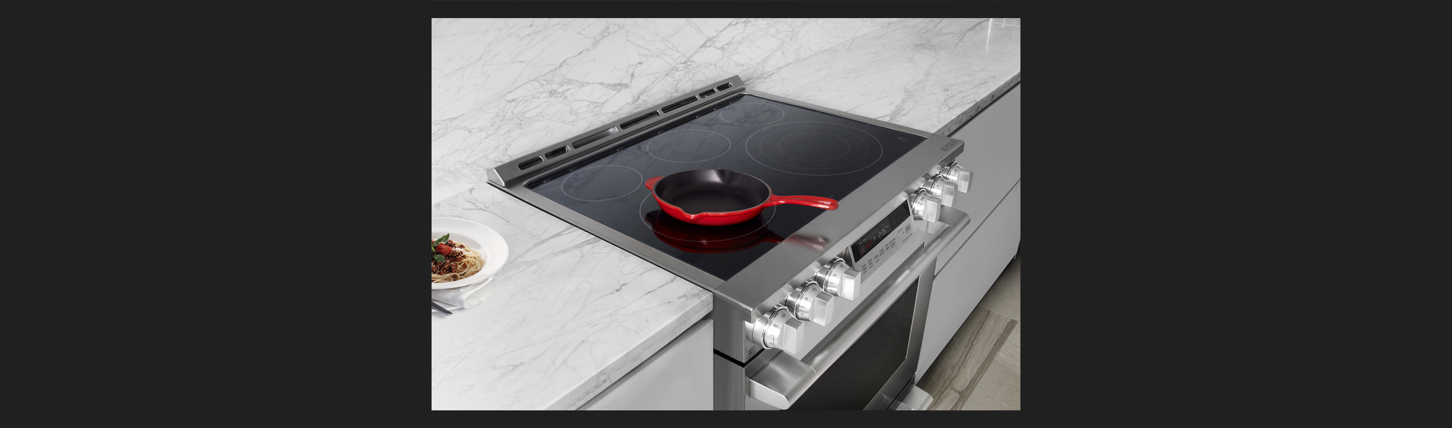 30-inch Electric Slide-in Oven Range | Glass Ceramic Cooktop