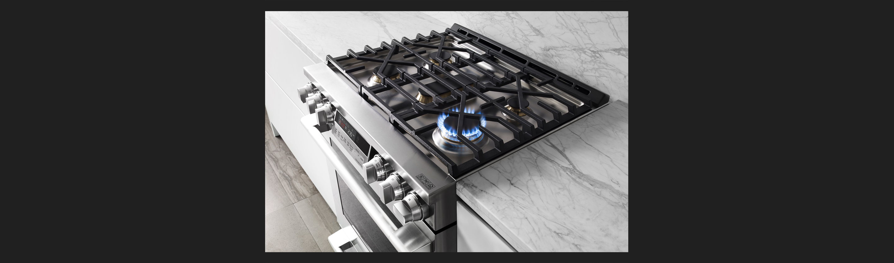 30-inch Gas Slide-in Oven Range | RapidHeat™ Burner