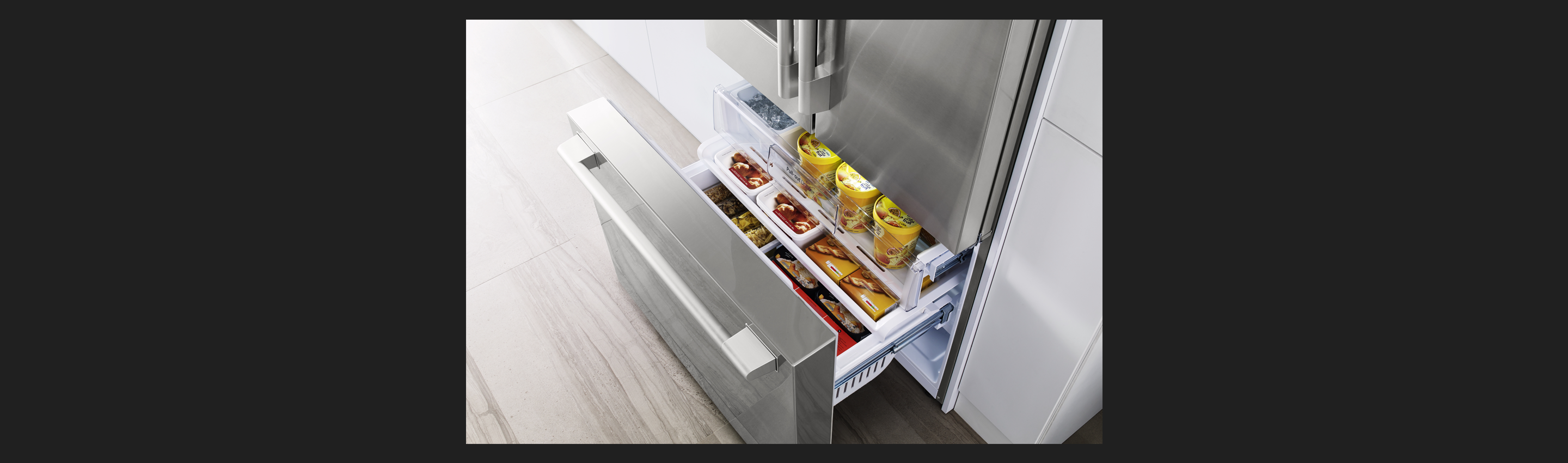 "36"" Counter-Depth French Door Refrigerator Freezer"
