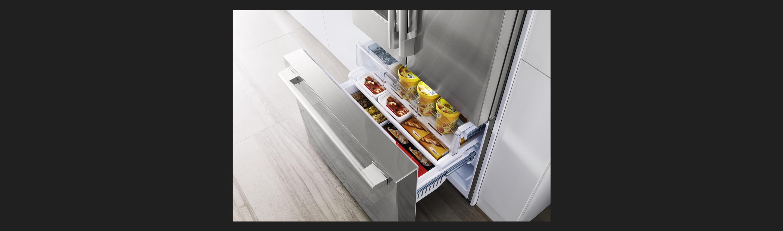 """36"""" Counter-Depth French Door Refrigerator Freezer"""