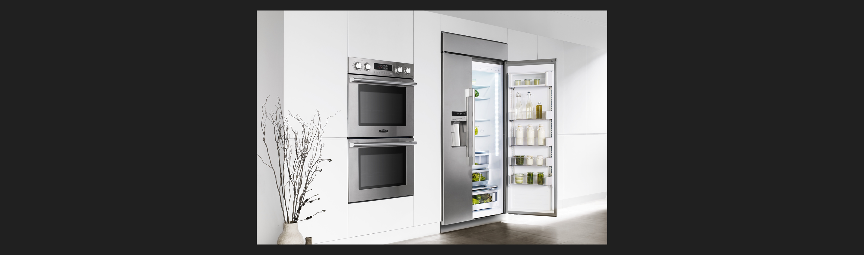 "42"" Built-in Side-by-side Refrigerator 
