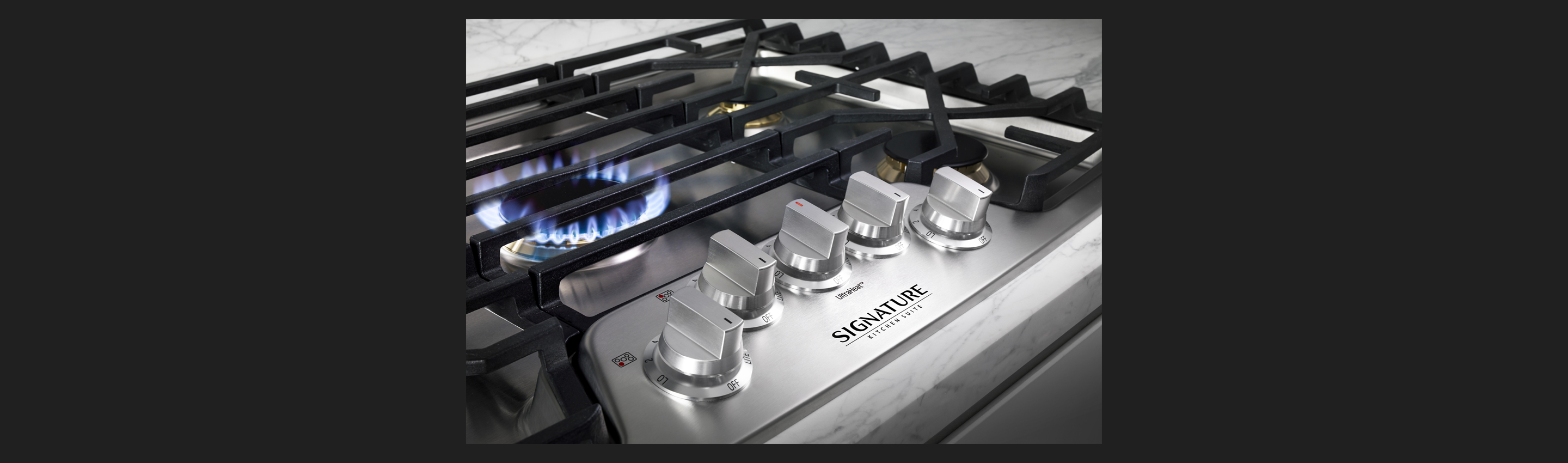 30-inch Gas Cooktop | Solid Brass Burner