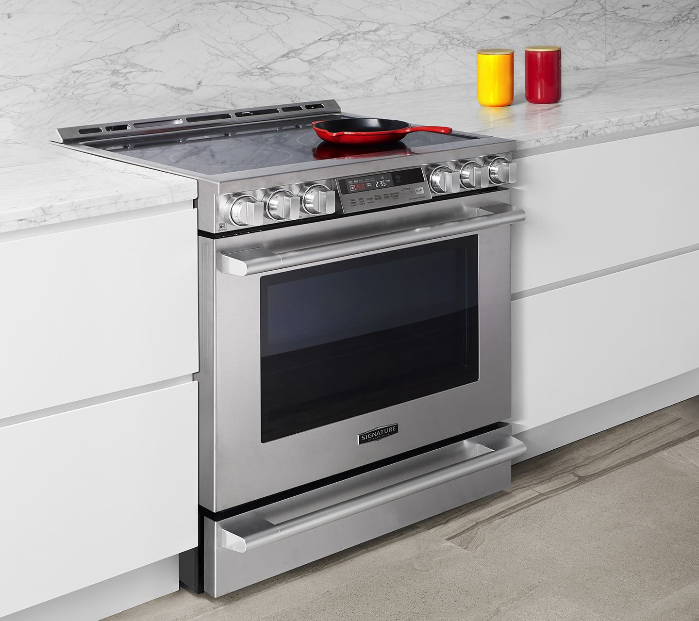 30 electric slide in oven range signature kitchen suite - Kitchen Stove