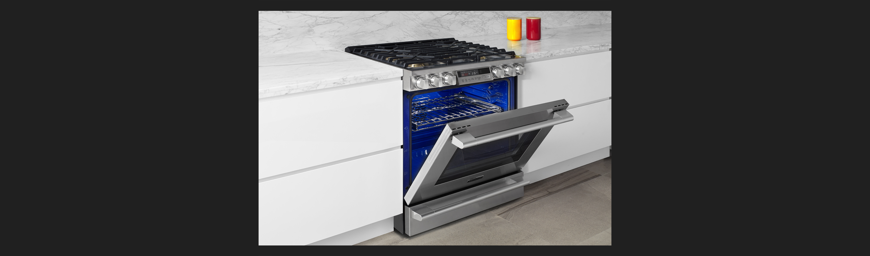 "30"" Gas Slide-in Oven Range with ProHeat™ Convection"