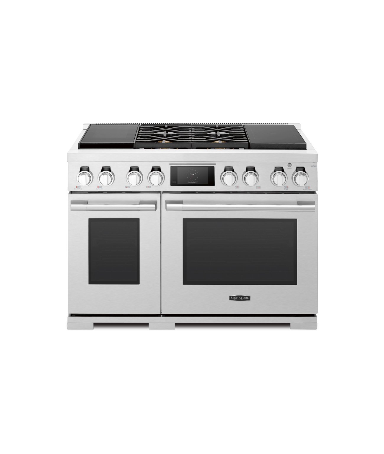 "48"" Dual Fuel Range with Sous Vide and induction"