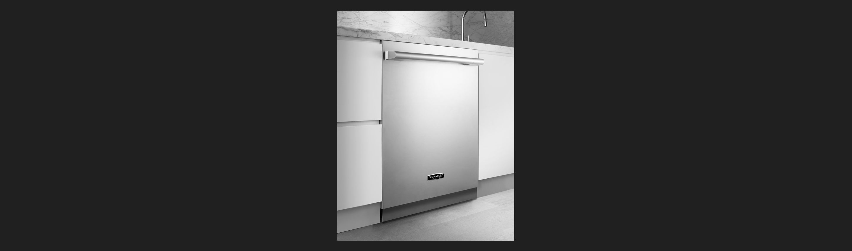 Dishwasher with PowerSteam frrom Signature Kitchen Suite