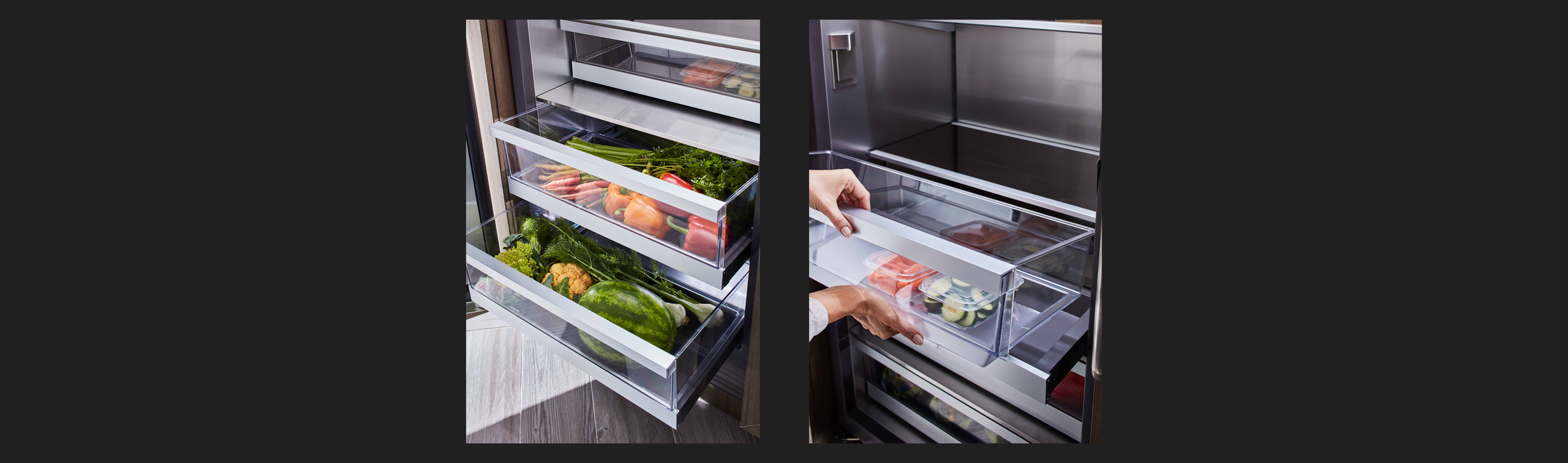 Signature Kitchen Suite | 24-inch Integrated Column Refrigerator