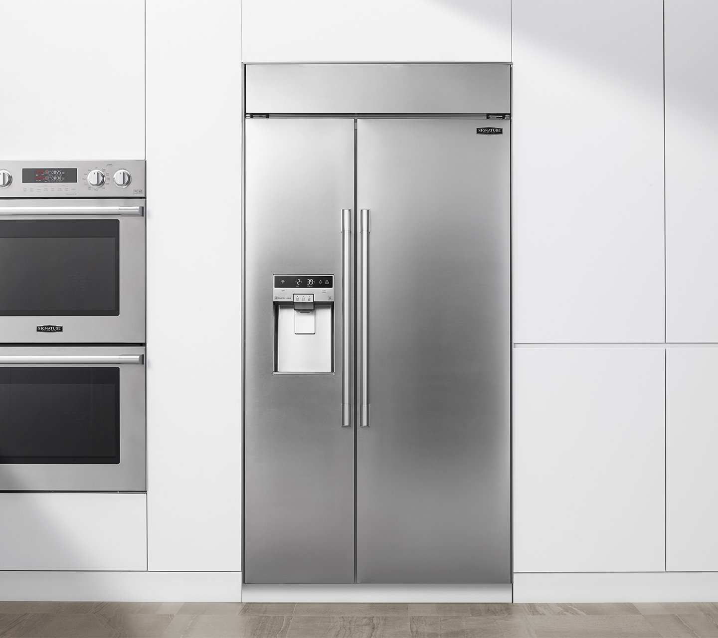 Signature Kitchen Suite | 42-inch Side-by-Side Refrigerator