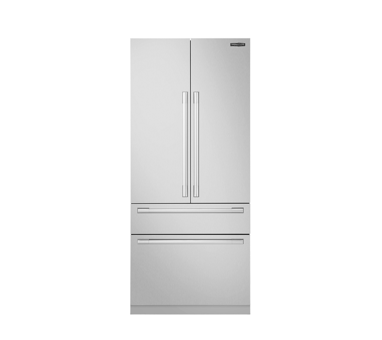 "Signature Kitchen Suite | 36"" Built-in French Door Refrigerator"