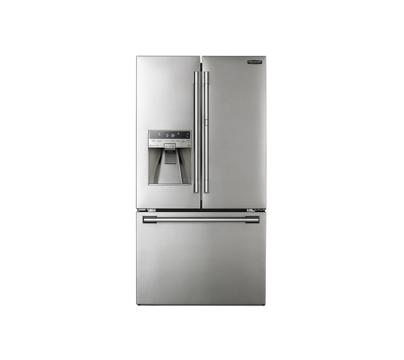 Signature Kitchen Suite | 36-inch Counter-Depth French Door Refrigerator