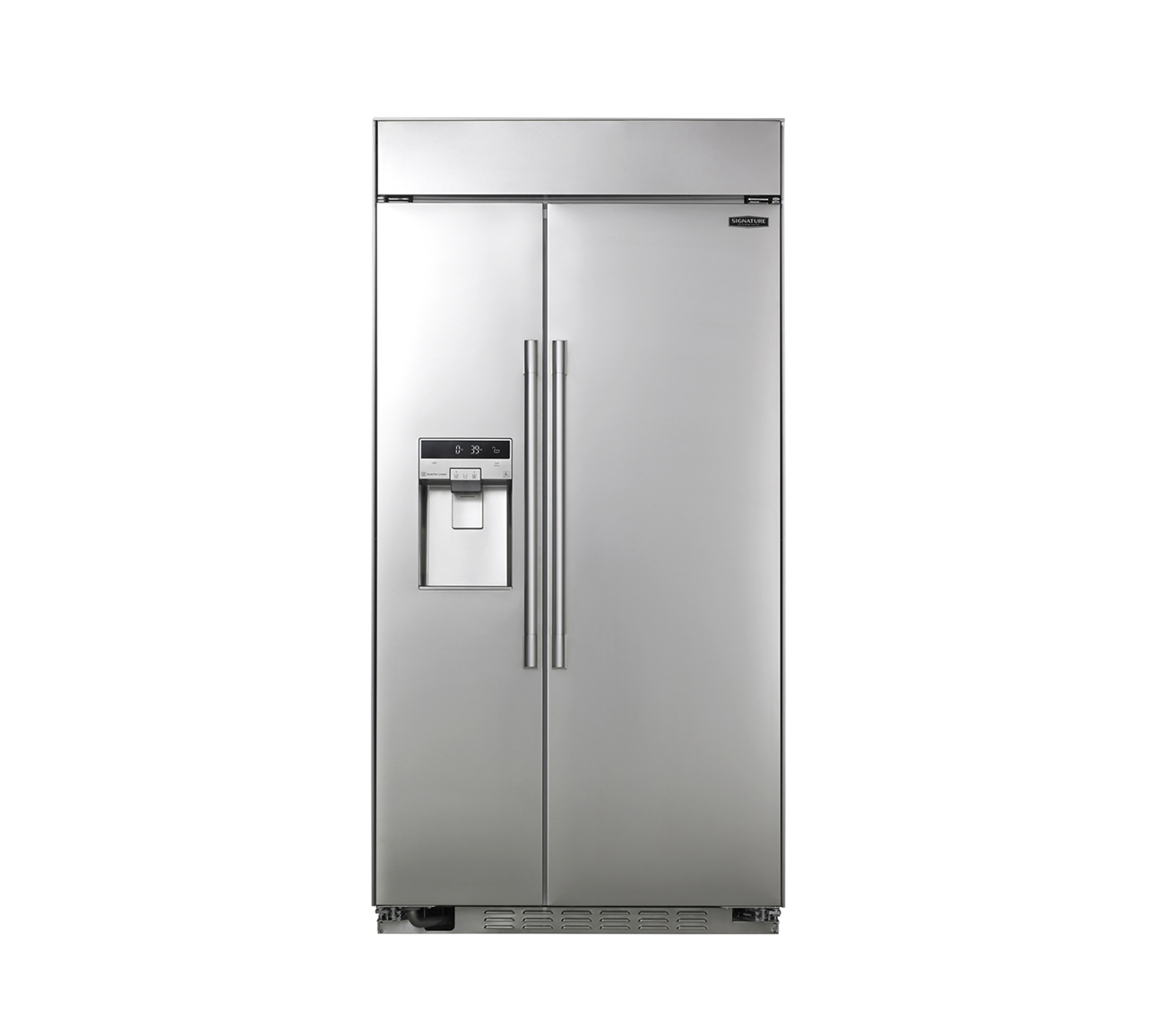 "Built-in Side-by-Side Refrigerator 42"" by Signature Kitchen Suite"