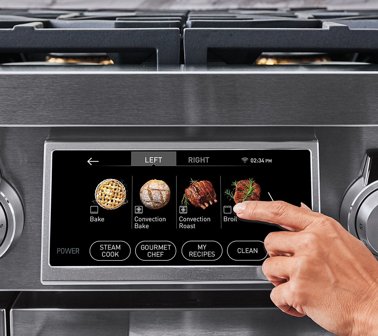 Signature Kitchen Suite | 48-inch Range | Oven Control