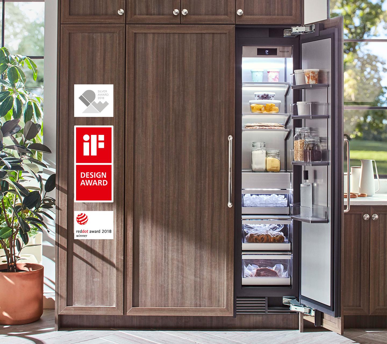 "Award Winning 18"" Integrated Freezer Column | Signature Kitchen Suite"