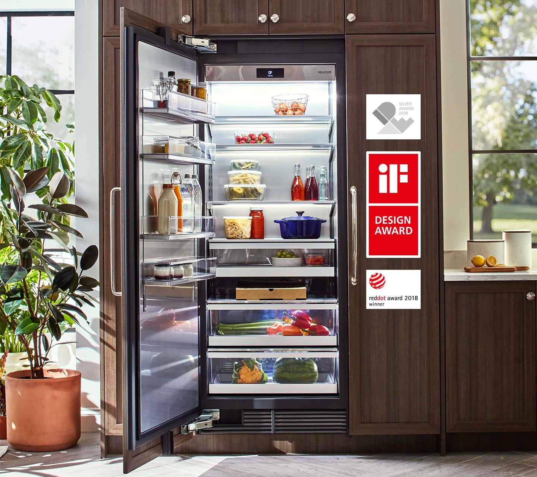 Colonne de réfrigération intégrée primée de 76cm (30po) | Signature Kitchen Suite