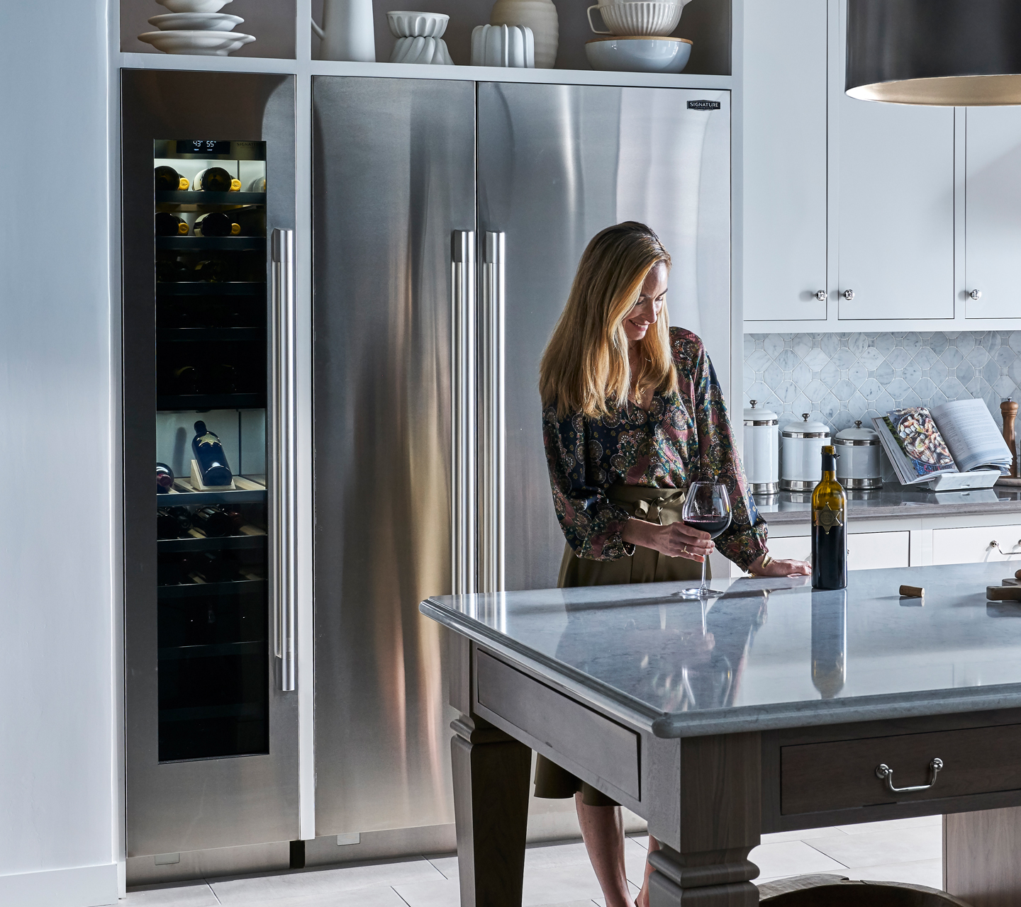 "Built In 18"" Wine Refrigerator 