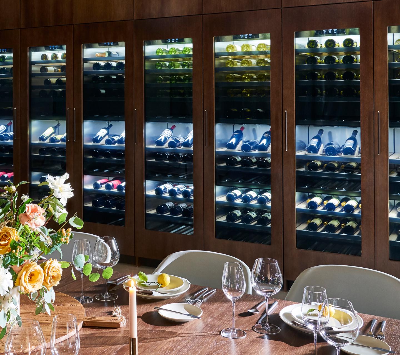 Built-in Wine Refrigeration | Signature Kitchen Suite