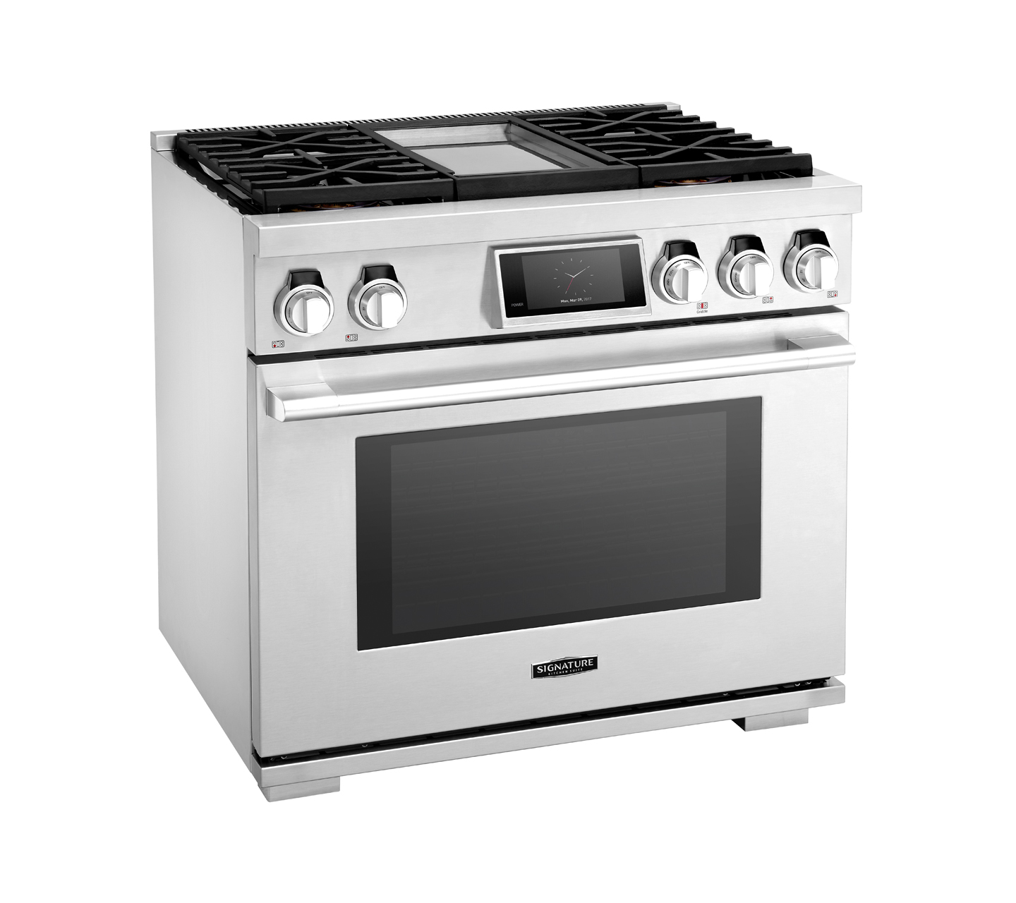 36 Quot Gas Pro Range With 4 Burners And Griddle Signature