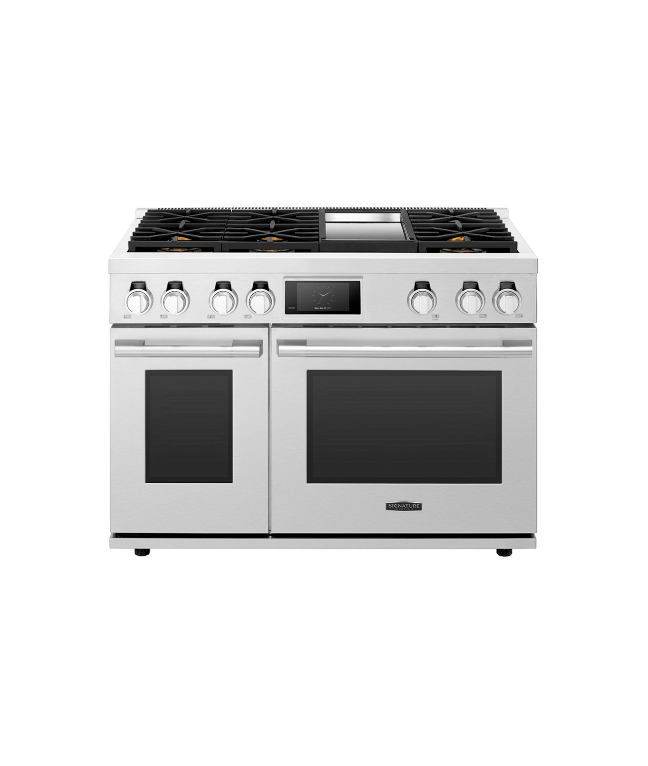 48-inch Gas Range with 6 Burners and Griddle from Signature Kitchen Suite