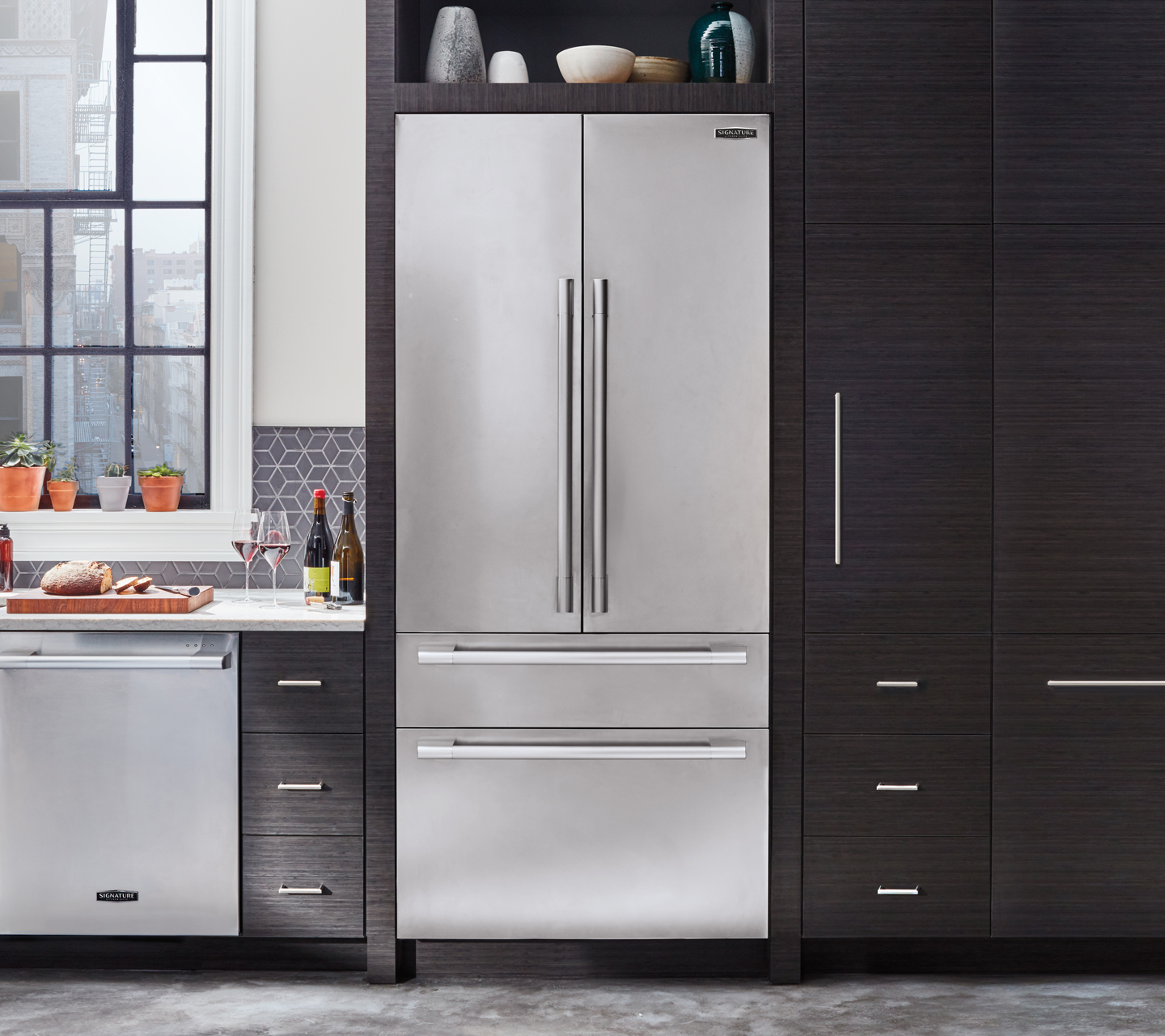 """The Cheesemakers - See our 36"""" Built-in Refrigerator"""