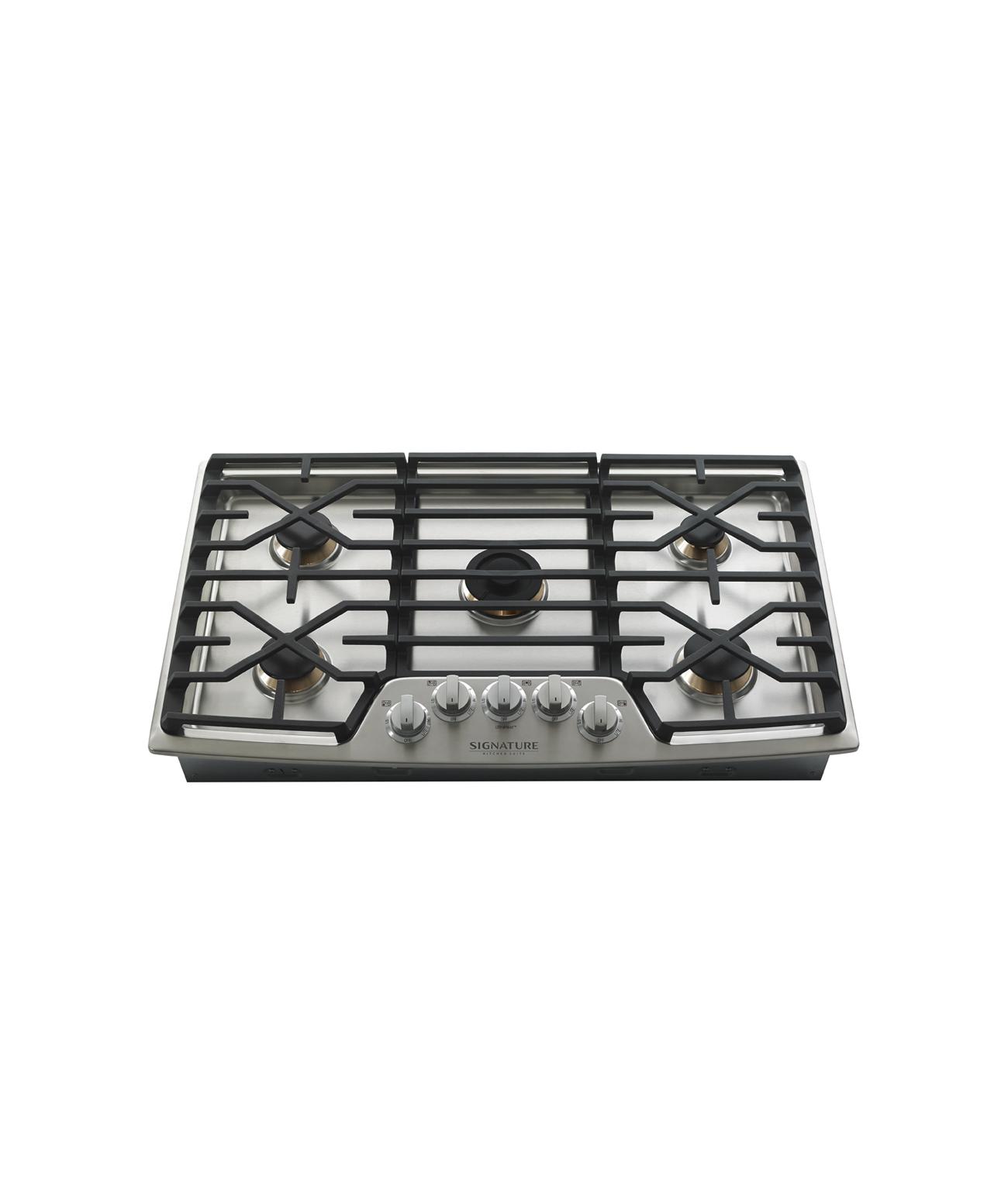 Surface de cuisson au gaz 76cm   Signature Kitchen Suite