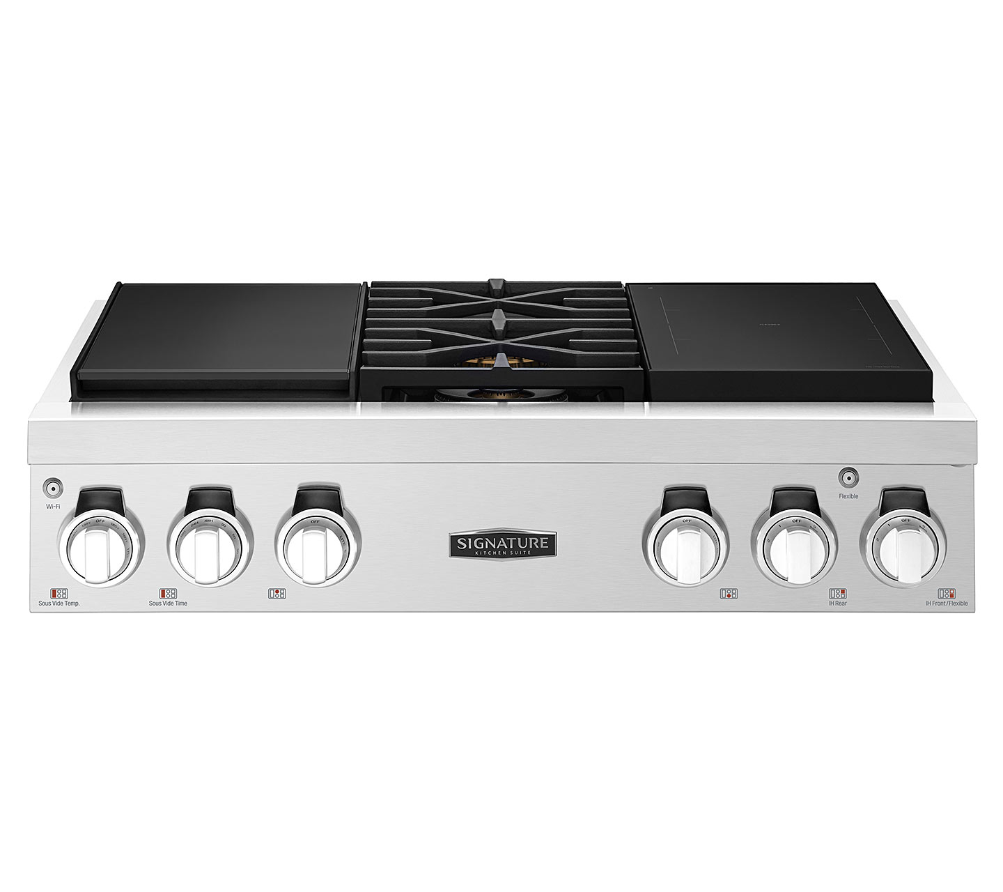 SKSRT360SIS – 36-inch Pro Rangetop with Sous Vide and Induction