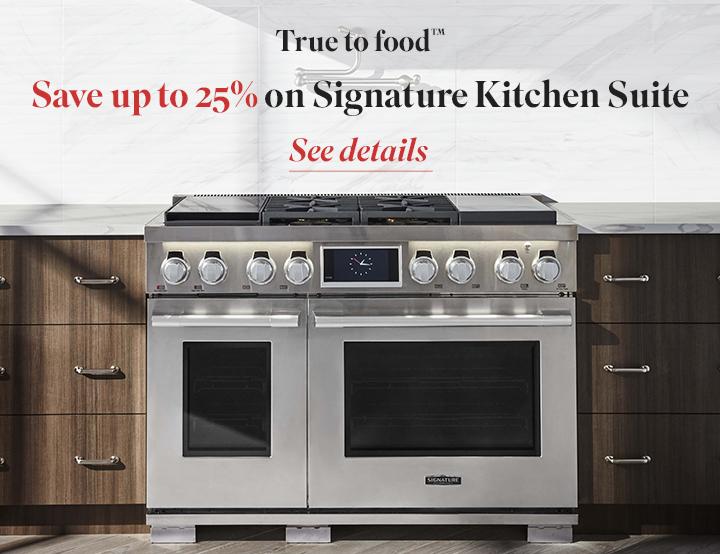 Signature Kitchen Suite | True to Food Program