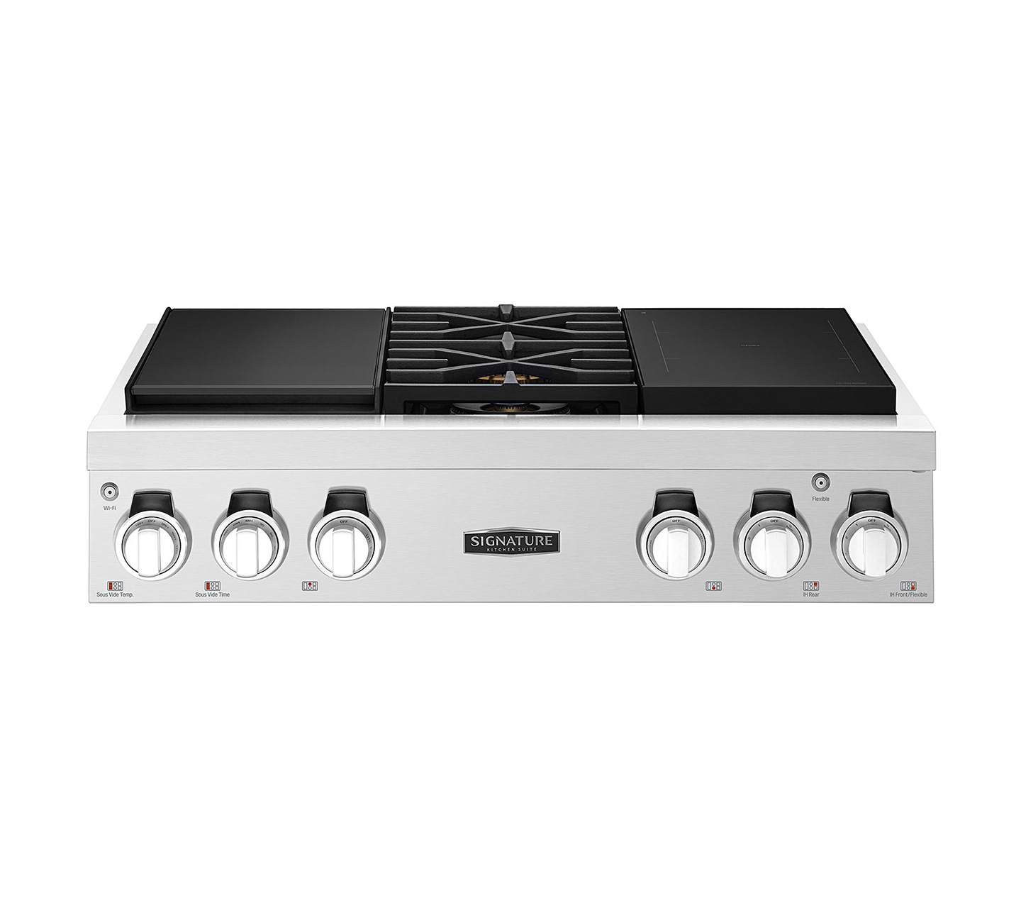 36-inch Pro Rangetop with Sous Vide and Induction
