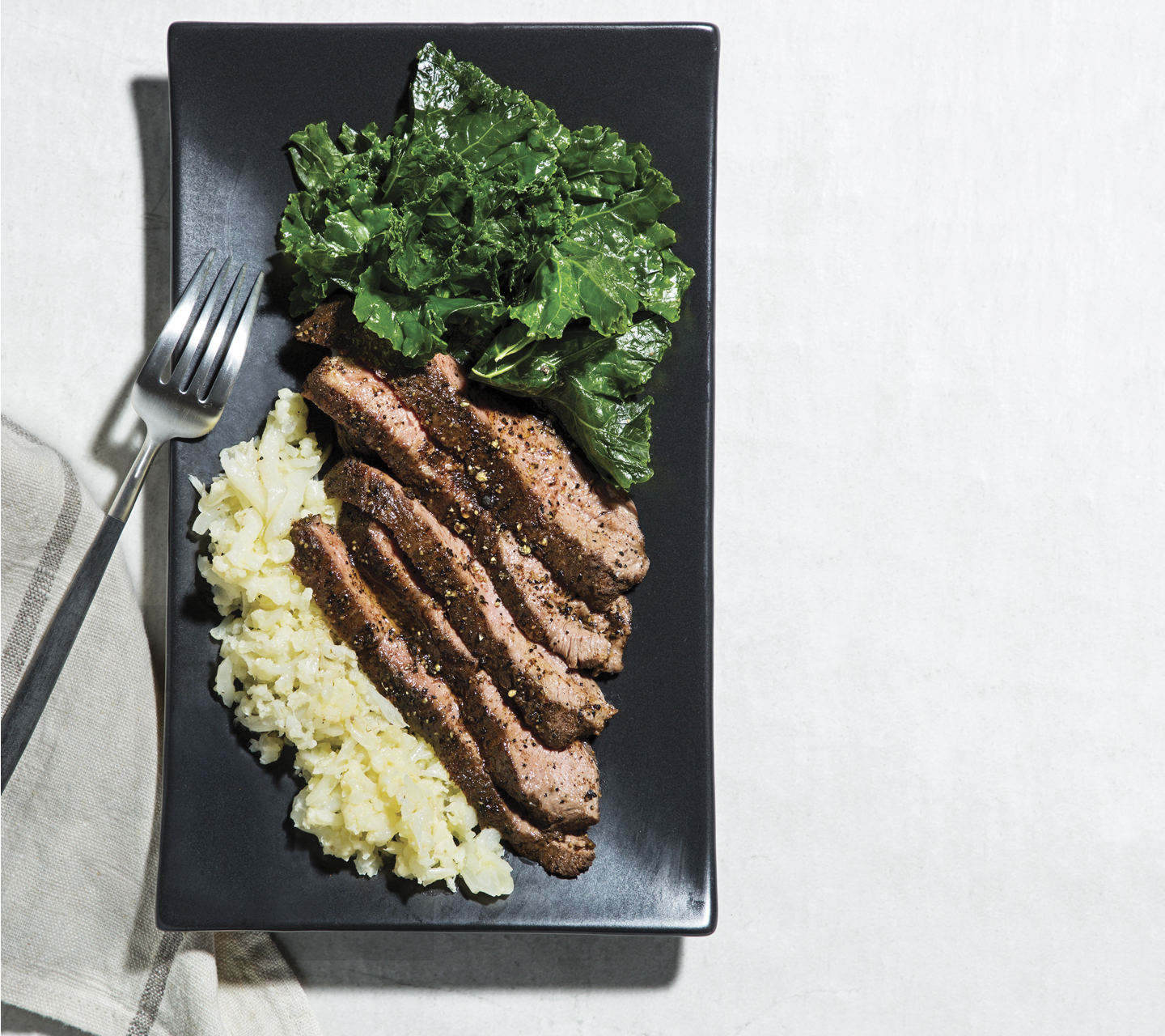 Coffee-Rubbed Flat Iron Steak | Signature Kitchen Suite