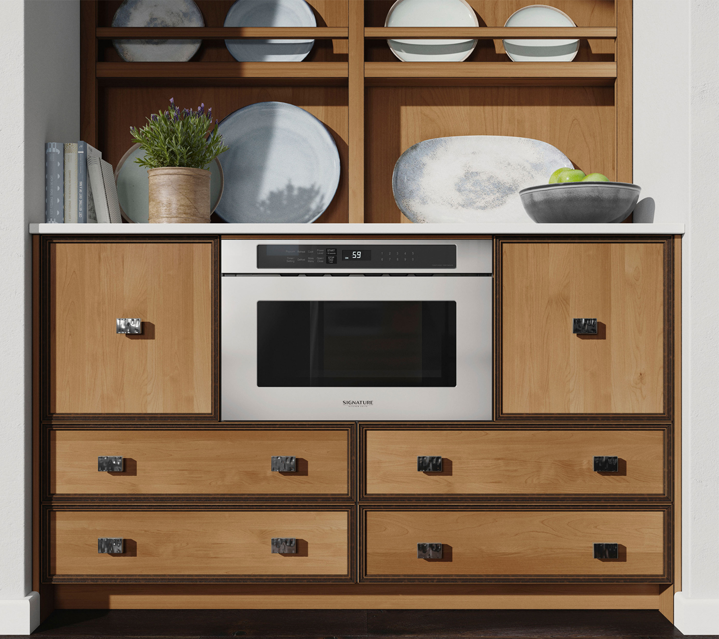 Signature Kitchen Suite Microwave Oven Drawer