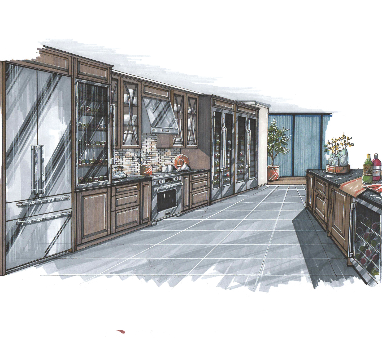 Signature Kitchen Suite | Alan Zielinski Illustration
