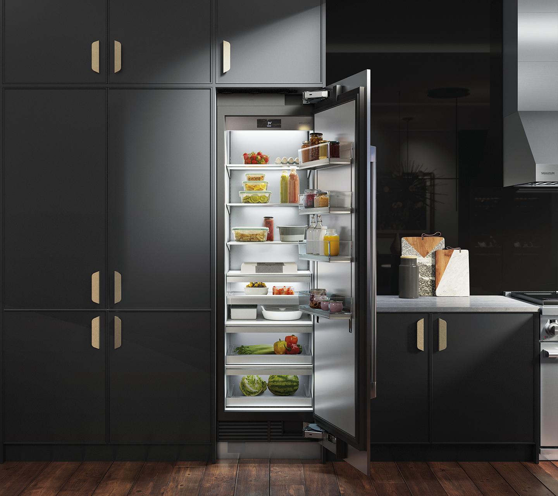 24-inch refrigerator column