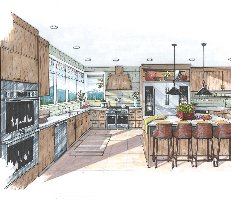 Signature Kitchen Suite | Nancy Dalton Illustration