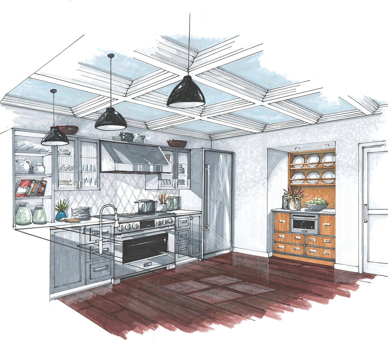 Signature Kitchen Suite | Scott Koehler Illustration