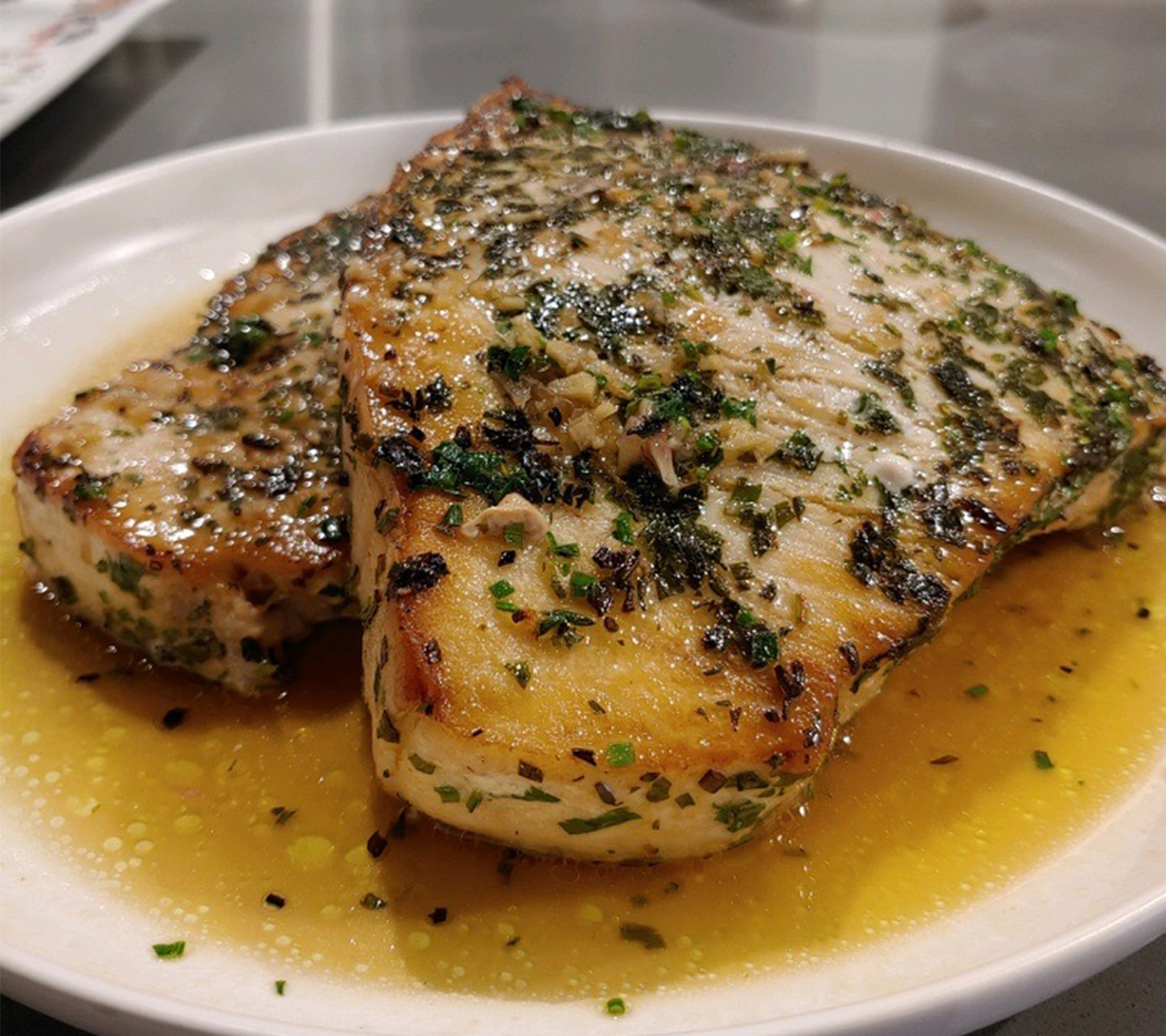 Herb Seasoned Fish