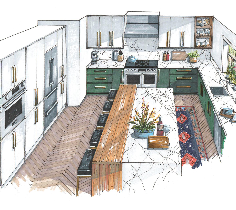 Signature Kitchen Suite | Trisha Gaffney Illustration