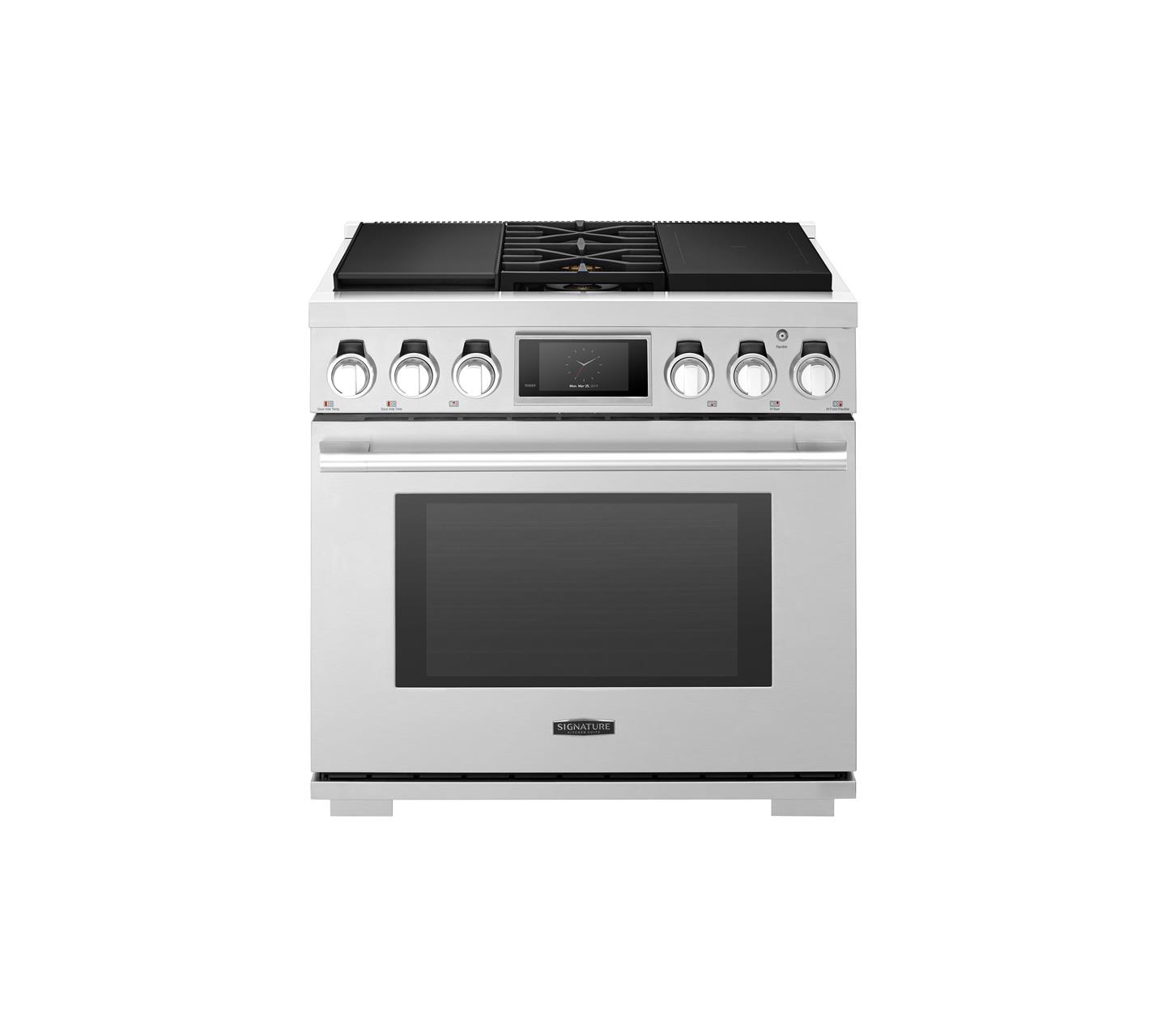 36-inch Dual Fuel Pro Range with Sous Vide and Induction