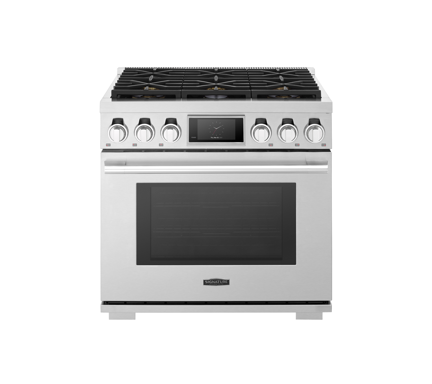 36-inch Gas Pro Range with 6 Burners